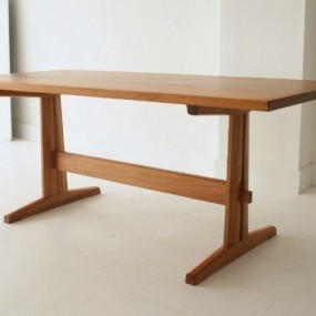 trestle table (2)