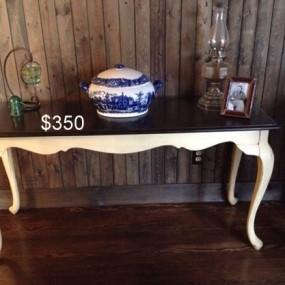 2 tone long table
