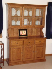 Country 3 Door Hutch and Buffet