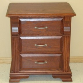 Hillview 3 Drawer Nightstand